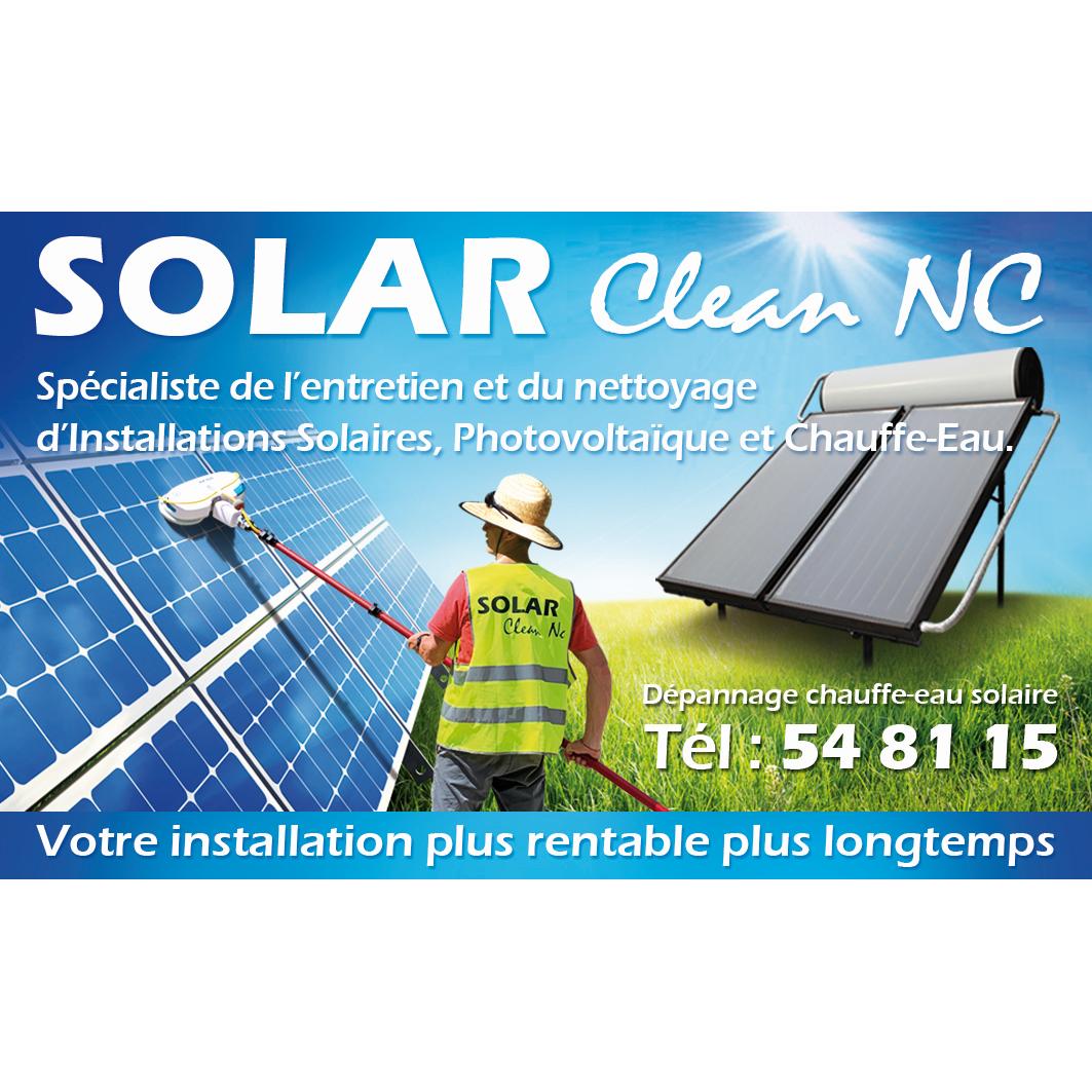 Logo SOlar clean nc