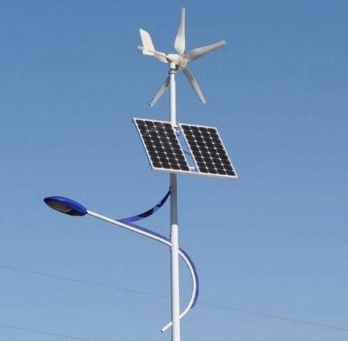 lampadaier solaire éolen hybride autonome